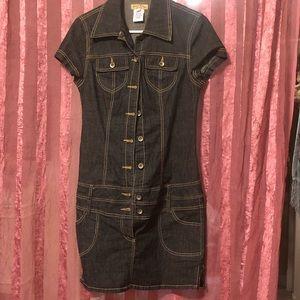 Cute jean dress